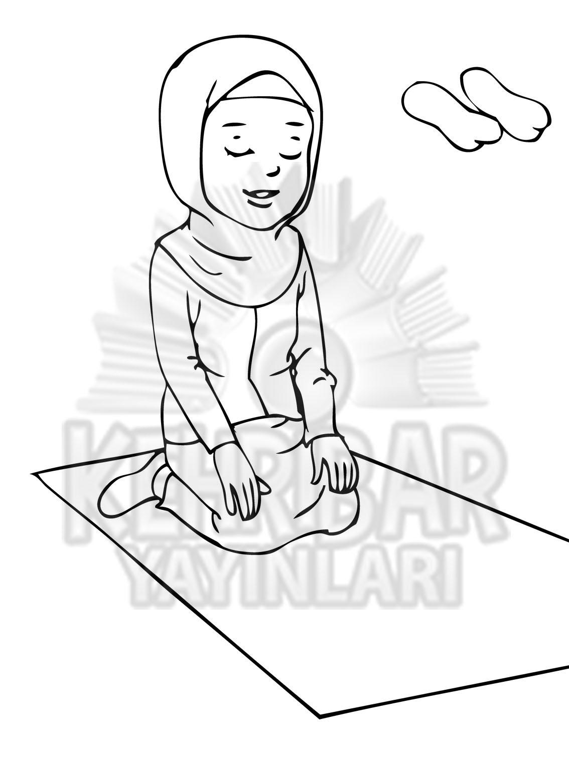 40 Haftada Abdest Namaz Boyama Kehribar Yayınları